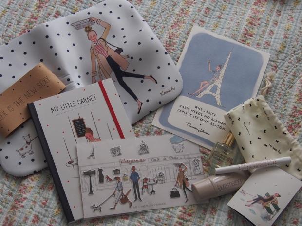 My Parisienne goodies!