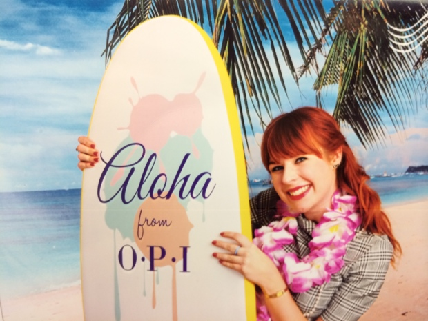 OPI whisked me away to 'Hawaii'!
