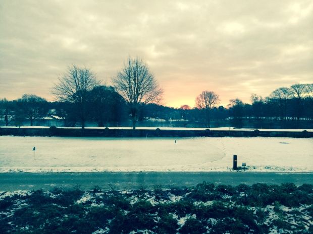 View from The Mere, Knutsford