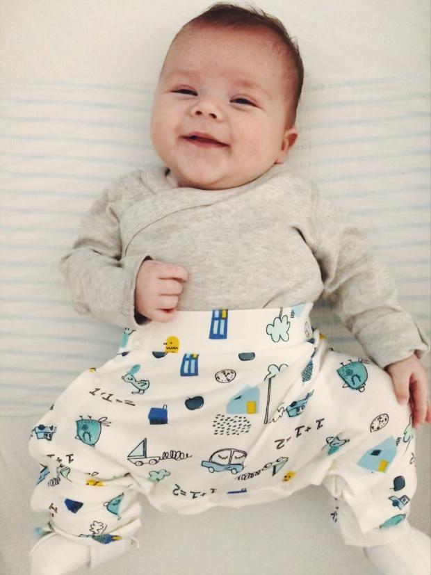 Little boy DDH Pavlik Harness clothing