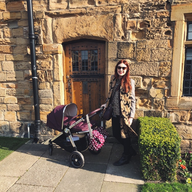 Mum and pram in Durham