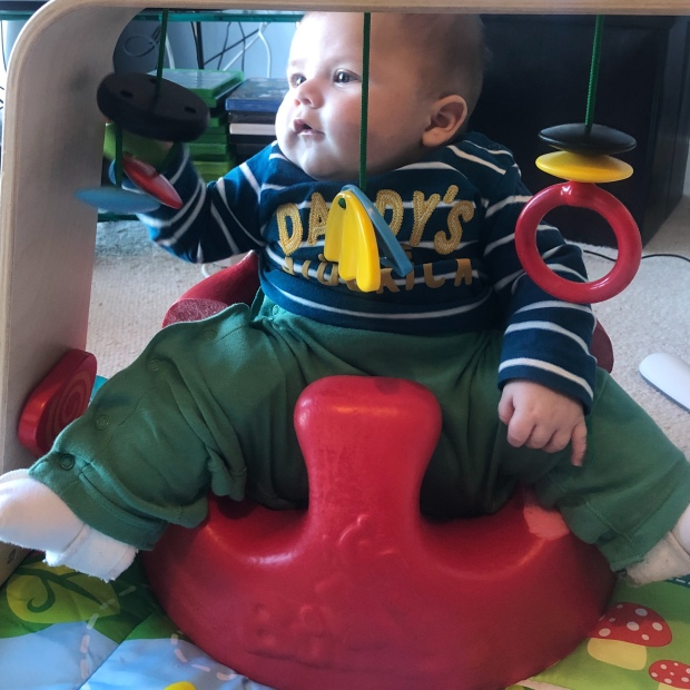 Adapted Bumbo seat DDH