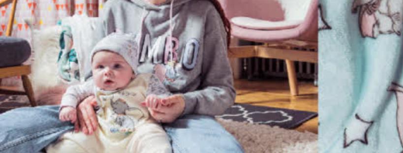 baby boy in pavlik harness for hip dysplasia