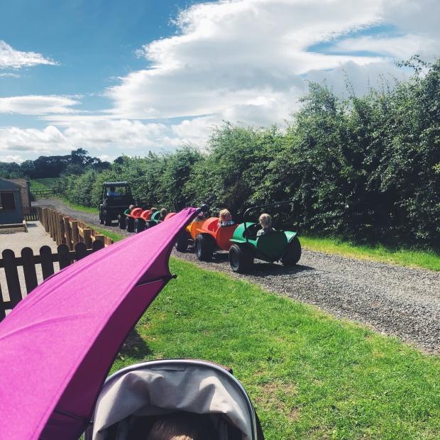 Tractor train
