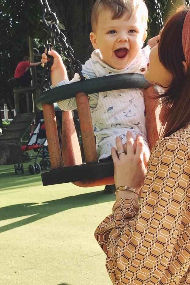 Children's playground Valley Gardens Harrogate