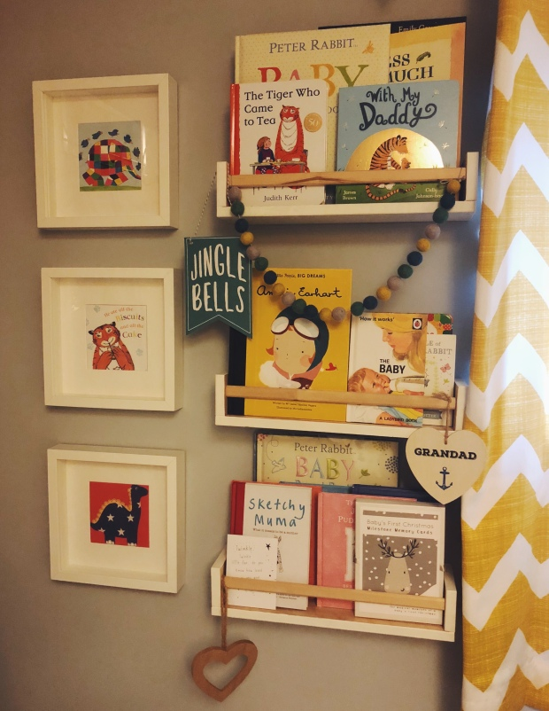 Books in a nursery