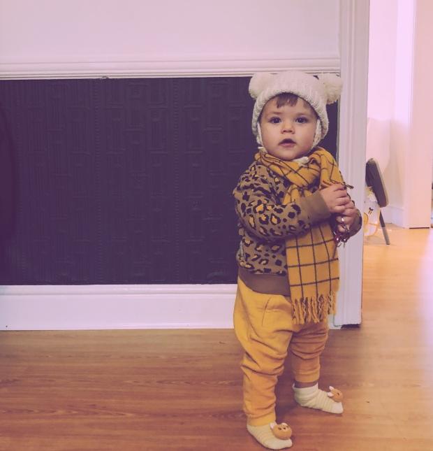 Baby DDH hip dysplasia pavlik harness walking