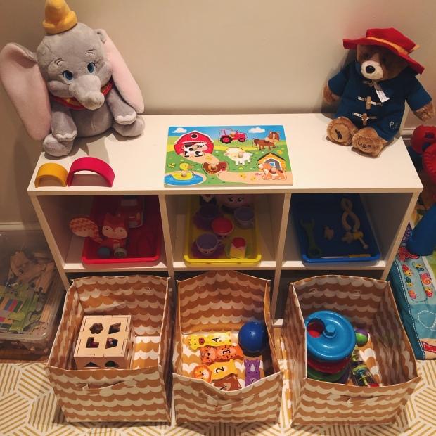 Toy rotation set up